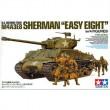 1/35 スケール アメリカ戦車 M4A3E8 シャーマン イージーエイト (人形4体付き)