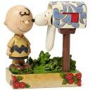 チャーリー・ブラウン メールボックス