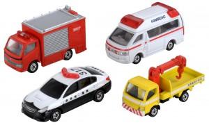 トミカ 緊急車両セット5の画像