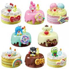 サンリオ 総選挙バースデーケーキ 全8種セット