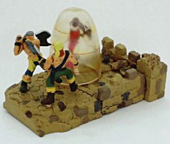 リンダvs海賊A・B