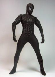スパイダーマン3 ムービー・マスターピース 1/6 フィギュア スパイダーマン ブラックコスチューム ver
