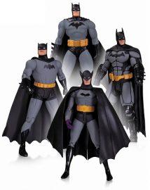 【DCコレクタブルズ】バットマン 75th アニバーサリー アクションフィギュア 4PK セット1