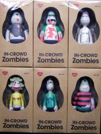 AMOS TOY IN-CROWD Zombies,The thin blue line