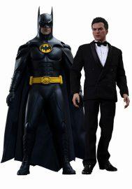 バットマン リターンズ ムービー・マスターピース 1/6 フィギュア バットマン&ブルース・ウェイン 2体セット